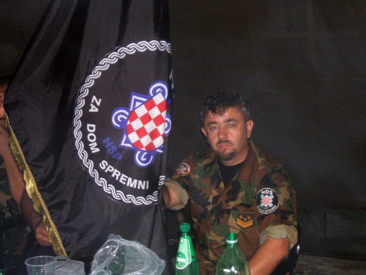 HOS-ovac DAMIR MARKUŠ - KUTINA   Domoljubni portal CM   Svjedočanstva  hrvatskih bojovnika
