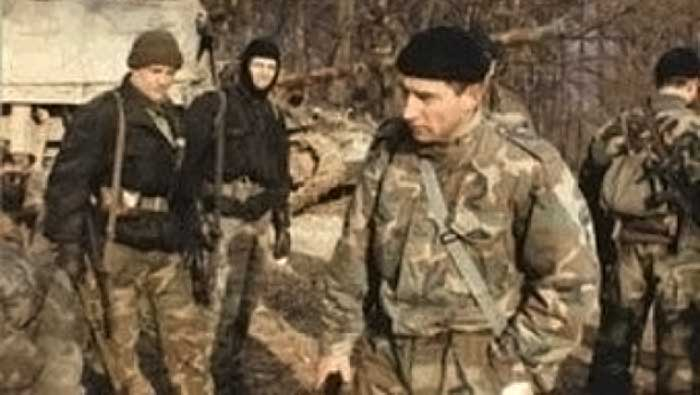 Ante Gotovina, Crne Mambe, Livno