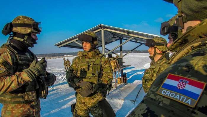 Pripadnici 3. HRVCON-a sudjelovali na vježbi gađanja u Poljskoj | Domoljubni portal CM | Press