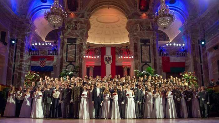 Kadeti (HVU) sudjelovali na Časničkom balu u Beču | Domoljubni portal CM | Press
