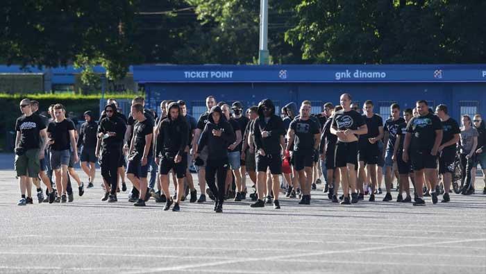 BBB pred stadionom Maksimir, policija spremna