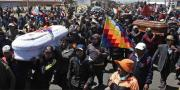 Pogrebna povorka u La Pazu prerasla u protuvladine prosvjede