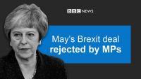 Sporazum o Brexitu Therese May pao u parlamentu