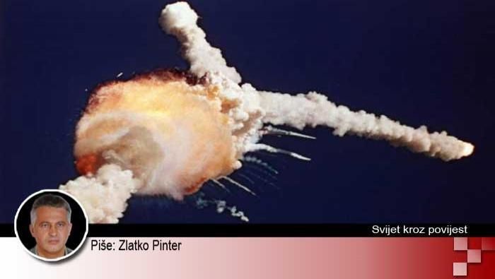 28. siječnja 1986. - eksplozija američke letjelice Challenger | Domoljubni portal CM | Svijet kroz povijest