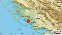 Dalmaciju pogodila dva potresa