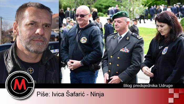 Ivica Šafarić Ninja: ČESTITAM VAM DAN NAŠE HRVATSKE! | Crne Mambe | Blog predsjednika Udruge