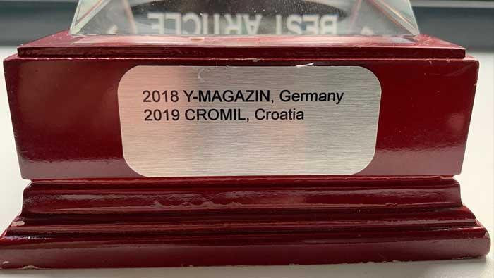 Reportaža CROATIAN MILITARY MAGAZINE-a osvojila nagradu EMPA-e