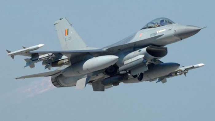 F-16 se srušio u Francuskoj