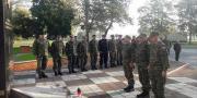 Polaznici 22. naraštaja Ratne škole u posjetu Gombr-i