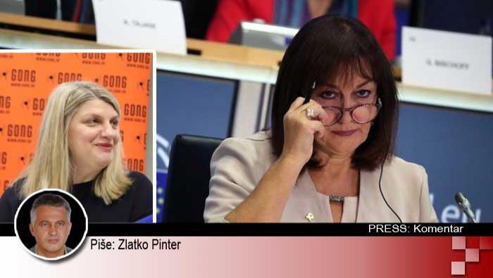 Kakva je to Europska unija koja ne dopušta GONG-u i SDP-u rušenje Dubravke Šuice!? | Domoljubni portal CM | Press
