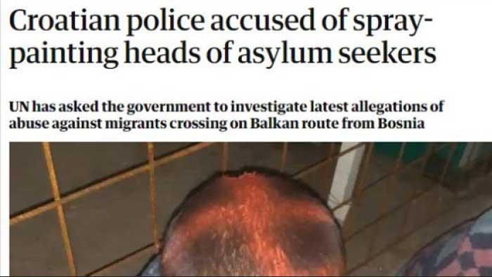 Britanski Guardian iznio bizarne optužbe na račun hrvatske policije