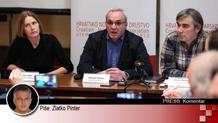 Predsjednik HND-a brani 'govna' i 'fekalije' uhićenog novinara! | Domoljubni portal CM | Press