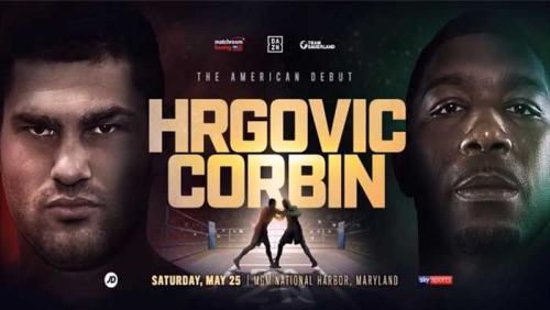 Hrgović spreman za Corbina i najavljuje pobjedu | Domoljubni portal CM | Sport