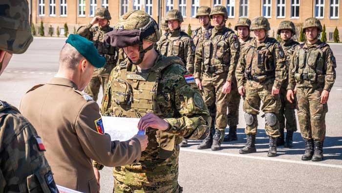 Hrvatski vojnici na međunarodnom 'Spartan' tečaju u Poljskoj  | Domoljubni portal CM | Press