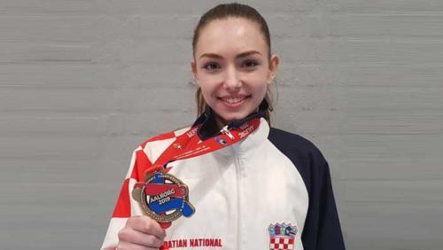 EP: Ines Grdenić brončana u konkurenciji mlađih seniorki | Domoljubni portal CM | Sport