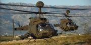 Svečanost završetka obuke pilota na helikopterima OH-58D Kiowa Warrior
