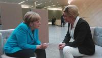 Hrvatska predsjednica u Berlinu s Angelom Merkel