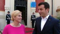 Predsjednica s gradonačelnikom Tirane