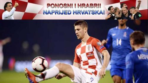 U vatrenom maksimirskom dvoboju Hrvatska svladala Azerbajdžan (2:1) | Domoljubni portal CM | Sport
