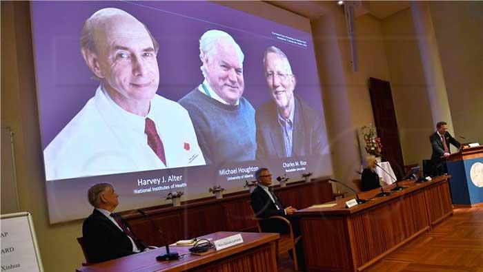 Nobel za medicinu trojici znanstvenika za otkriće virusa hepatitisa C