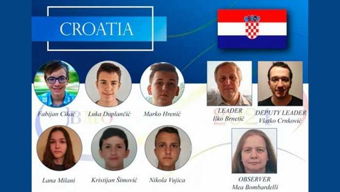 Učenici iz Hrvatske osvojili četiri medalje na matematičkoj olimpijadi