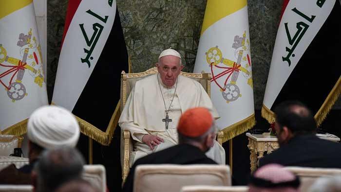 Irak: Povijesni susret pape Franje i šijitskog duhovnog vođe Sistanija