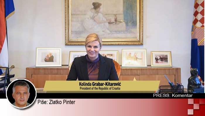 Vrijeđanje i omalovažavanje Predsjednice u neokomunističkim medijima | Domoljubni portal CM | Press