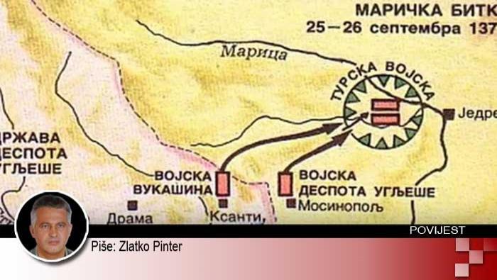 Srpski poraz na Marici 26. rujna 1371. | Domoljubni portal CM | Svijet kroz povijest