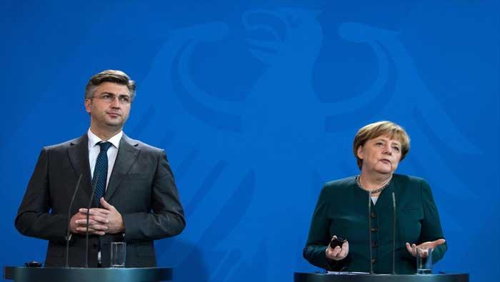Premijer Plenković putuje u radni posjet Berlinu