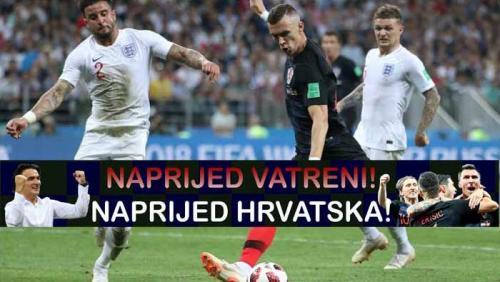 NEVJEROJATNA HRVATSKA - DON'T CRY ENGLAND   Domoljubni portal CM   Sport