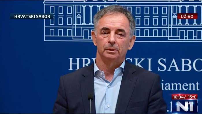 Izjava za medije Milorada Pupovca