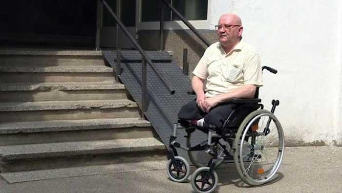 Ivan Kranjčić dobio rampu za invalide
