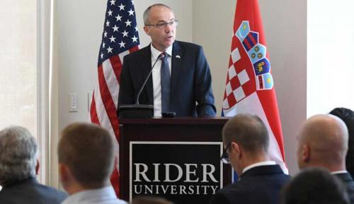 Krstičević o domovinskoj sigurnosti na Rider Sveučilištu u SAD-u | Domoljubni portal CM | Press
