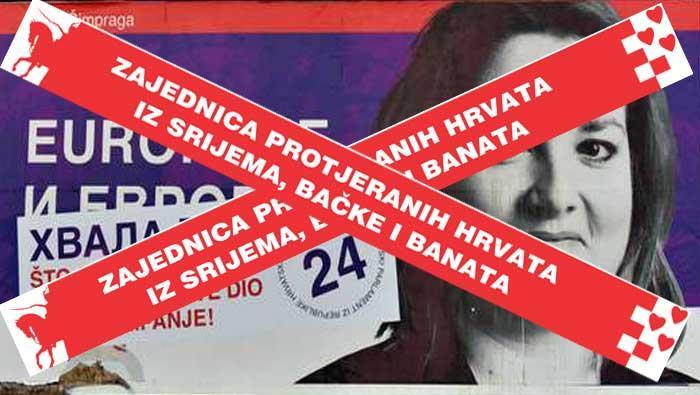 Osvrt na govor zastupnice Šimprage i na položaj Hrvata u Srbiji