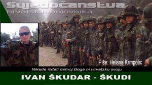 IVAN ŠKUDAR - ŠKUDI | Crne Mambe | Svjedočanstva hrvatskih bojovnika