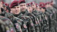 Slovenska vojska pokradena na spavanju