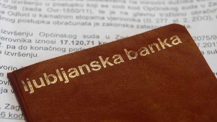 Slovenija: prosvjedna nota Hrvatskoj zbog odluke u slučaju Ljubljanske banke