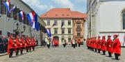 Na Trgu sv. Marka održana Velika smjena straže (+video)
