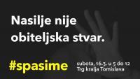Prosvjed inicijative #Spasime