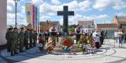 Otkriven Spomenik svim poginulim Bošnjačanima i poginulim hrvatskim braniteljima tijekom Domovinskog rata