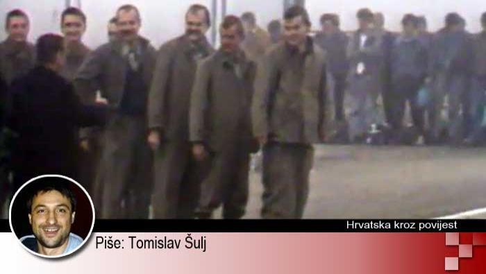 Najteža razmjena ratnih zarobljenika (12. prosinca 1991.) | Domoljubni portal CM | Hrvatska kroz povijest