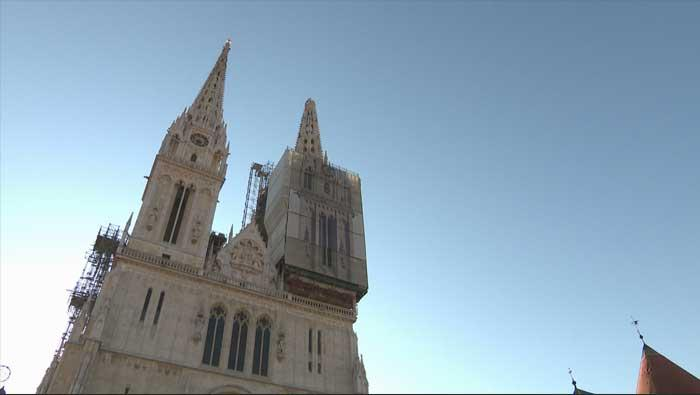 Oštećen i sjeverni toranj katedrale | Domoljubni portal CM | Press