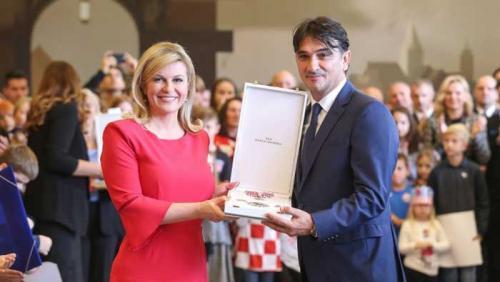 Predsjednica odlikovala Vatrene: Pokazali ste da je Hrvatska moćna sila | Domoljubni portal CM | Sport
