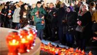 VUKOVAR - učenici osnovnih škola upalili lampione na putu Kolone sjećanja