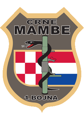 Crne Mambe - grb