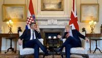 Plenković i Johnson žele jačati odnose Hrvatske i Velike Britanije