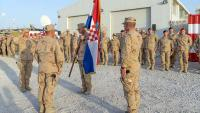 Primopredaja dužnosti između hrvatskih kontingenata u Afganistanu | Domoljubni portal CM | Press