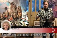 Charles Billichevo novo remek djelo: 'Šahovnica hrvatske povijesti' | Domoljubni portal CM | Hrvati u svijetu