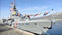 Primopredaja novog obalnog ophodnog broda 'Omiš' HRM-u