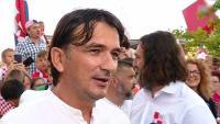 Izbornik Dalić: Drago mi je da se Hrvatska ujedinila